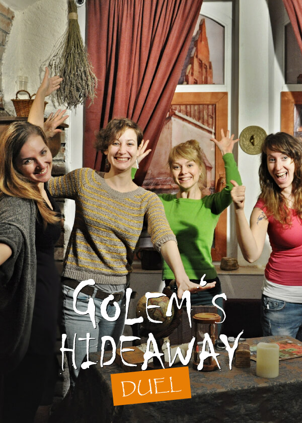 Escape game Golem's Hideaway Duel